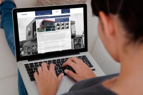 Redesign der Hofbauer Website