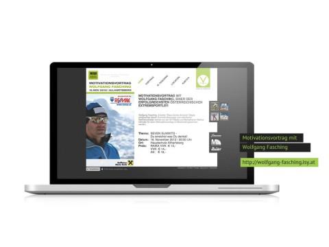 Veranstaltungswebsite – Wolfgang Fasching