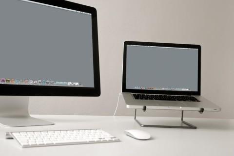 "Produktfotografie Laptopständer ""simply"""