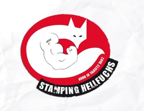 Logoentwicklung Stamping Hellfuchs