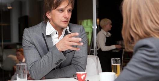 Andreas Grillneder bei der Vienna Design Week beim Bene Expert Talk