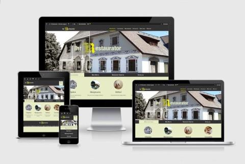 Responsive Website für Ihr-Restaurator