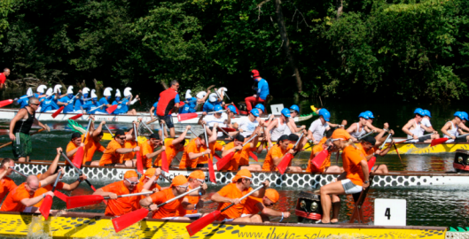 Business Drachenboot Challenge Rennen