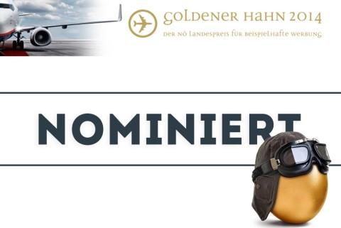 Nominiert für den Goldenen Hahn