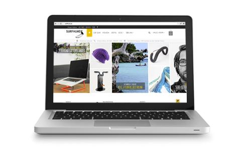 Onlineshop für SURFHUND