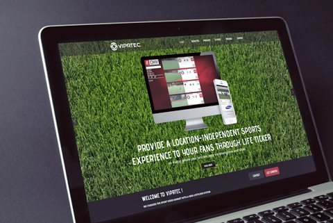 VIPRTEC Screendesign